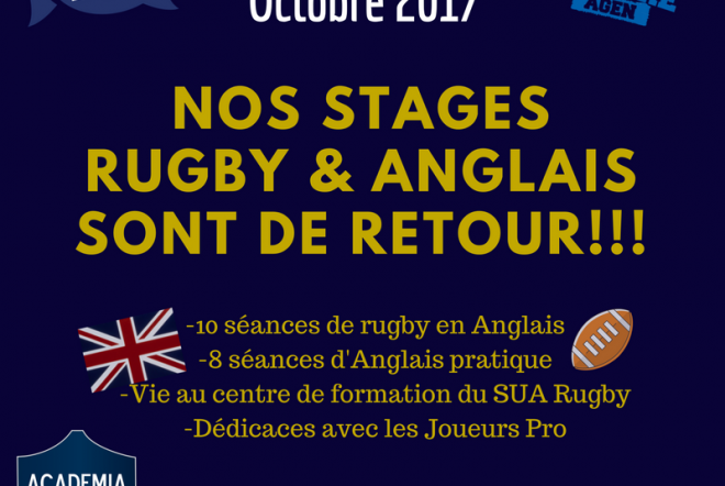 Inscriptions STAGES TOUSSAINT